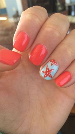 Best Colorful and Stylish Summer Nails Ideas 23