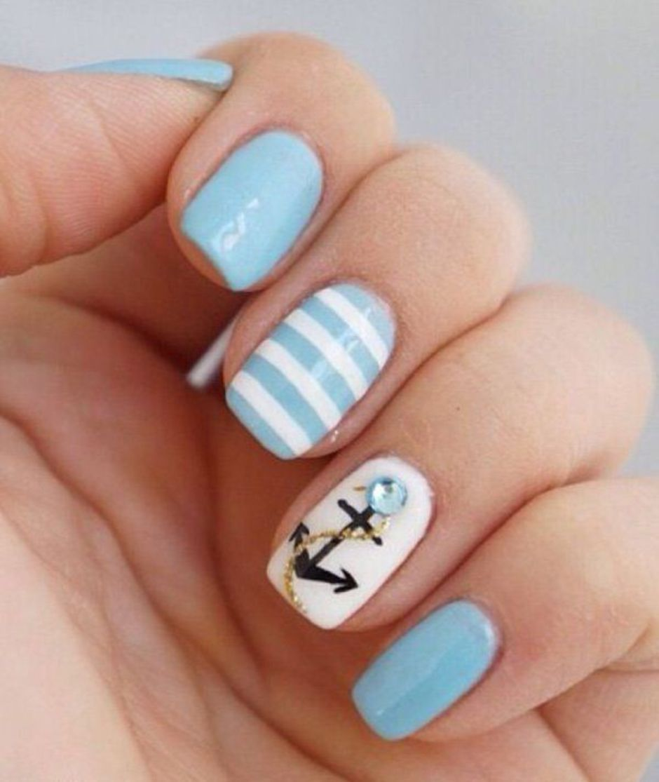 Best Colorful and Stylish Summer Nails Ideas 28