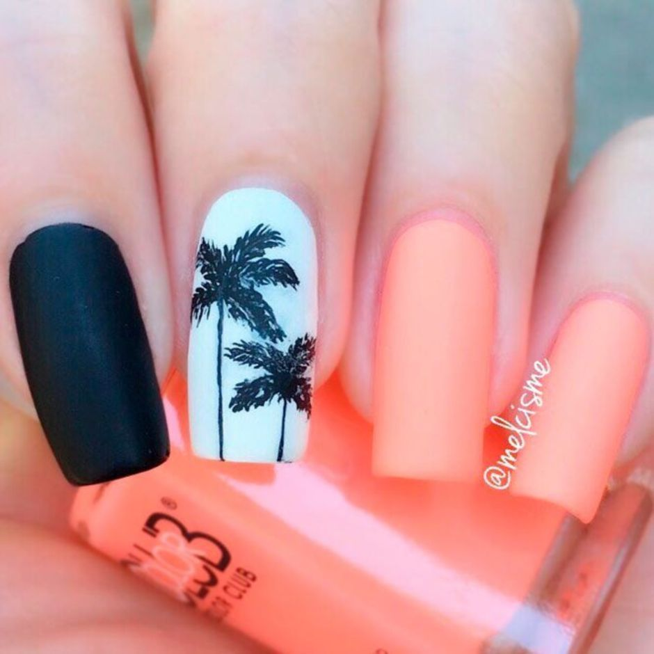 Best Colorful and Stylish Summer Nails Ideas 45