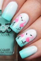 Best Colorful and Stylish Summer Nails Ideas 54