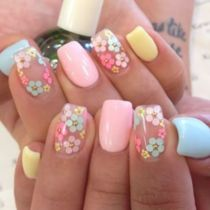 Best Colorful and Stylish Summer Nails Ideas 7