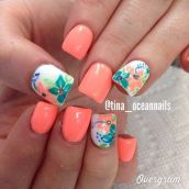 Best Colorful and Stylish Summer Nails Ideas 83