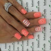 Best Colorful and Stylish Summer Nails Ideas 84
