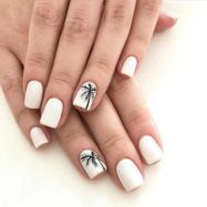 Best Colorful and Stylish Summer Nails Ideas 86