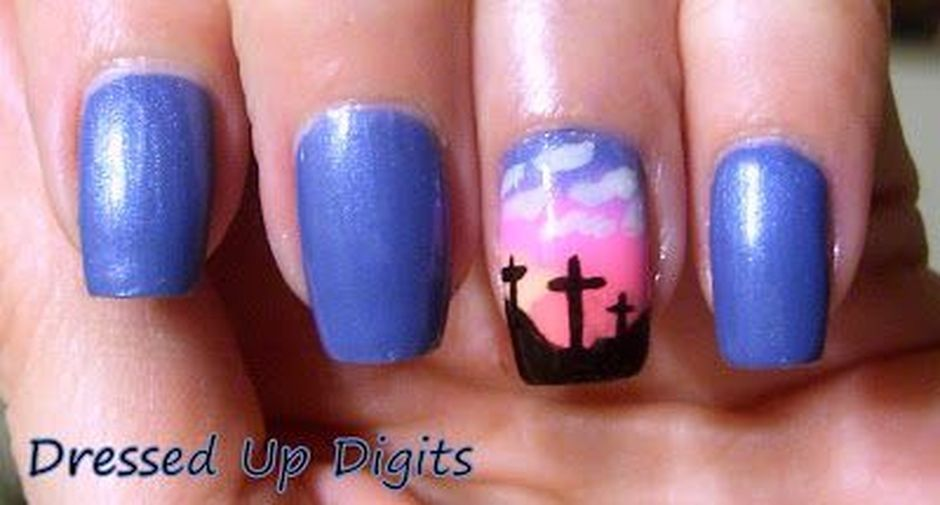 Cute and Easy Easter Nail Art Design Ideas 2