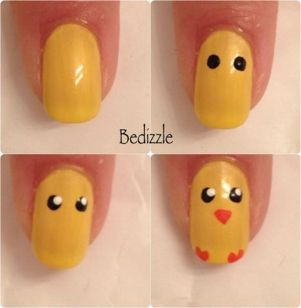 Cute and Easy Easter Nail Art Design Ideas 52
