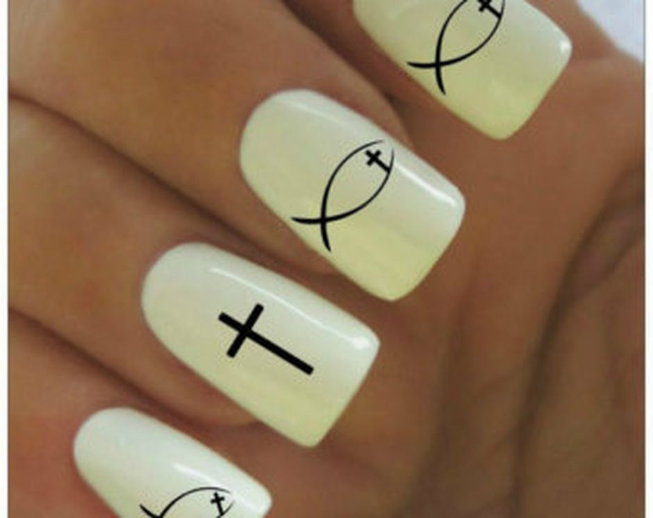 Cute and Easy Easter Nail Art Design Ideas 8