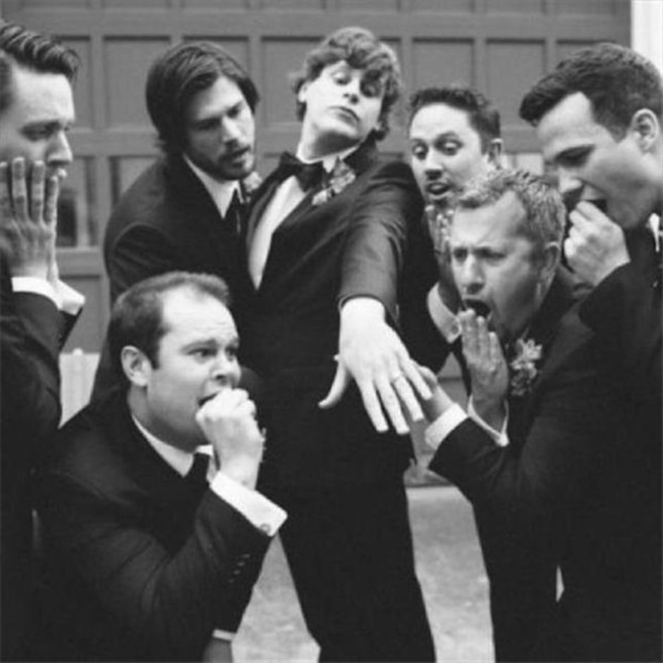 100+ Groomsmen Photos Poses Ideas You Can't Miss 29