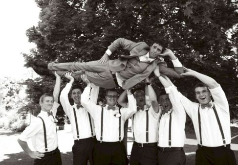 100+ Groomsmen Photos Poses Ideas You Can't Miss 60