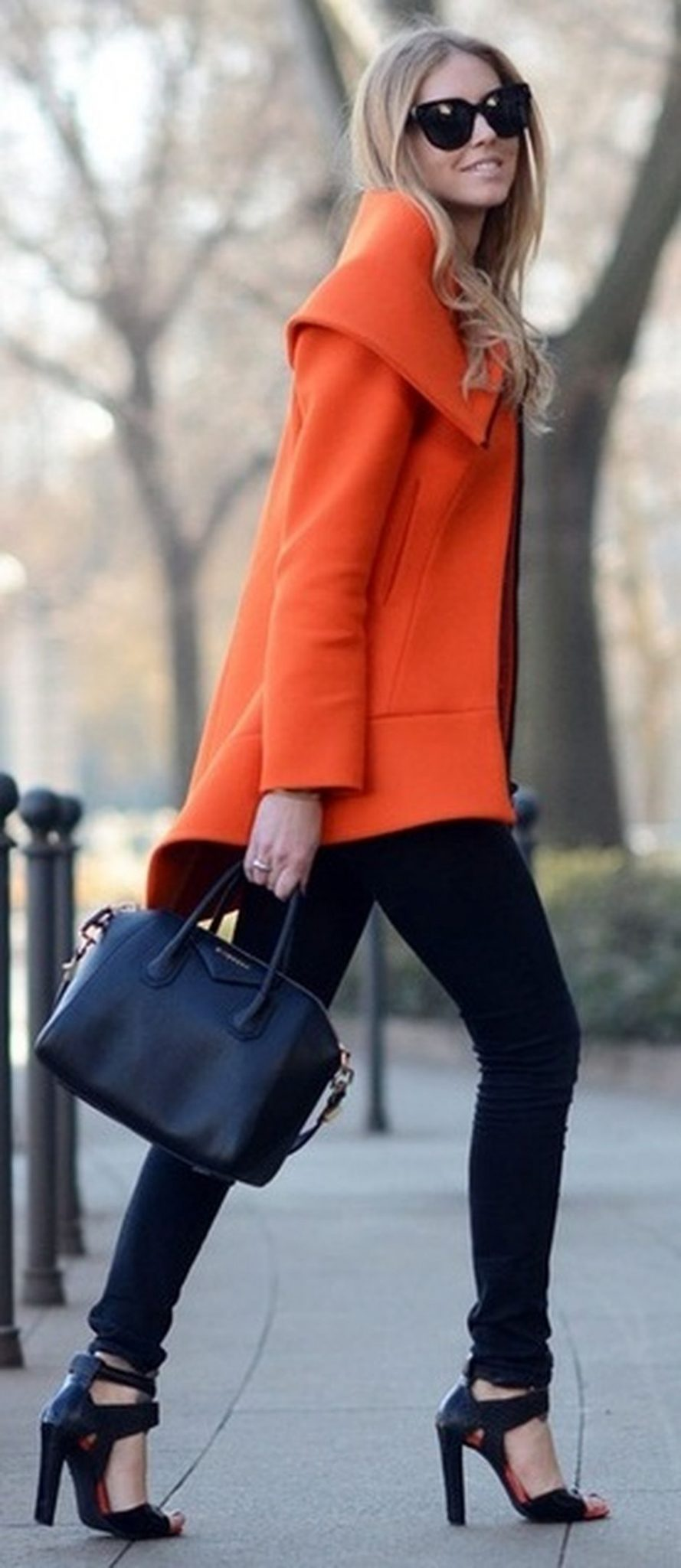 55 Orange Outfit Ideas That Make You Look Young and Fresh 26
