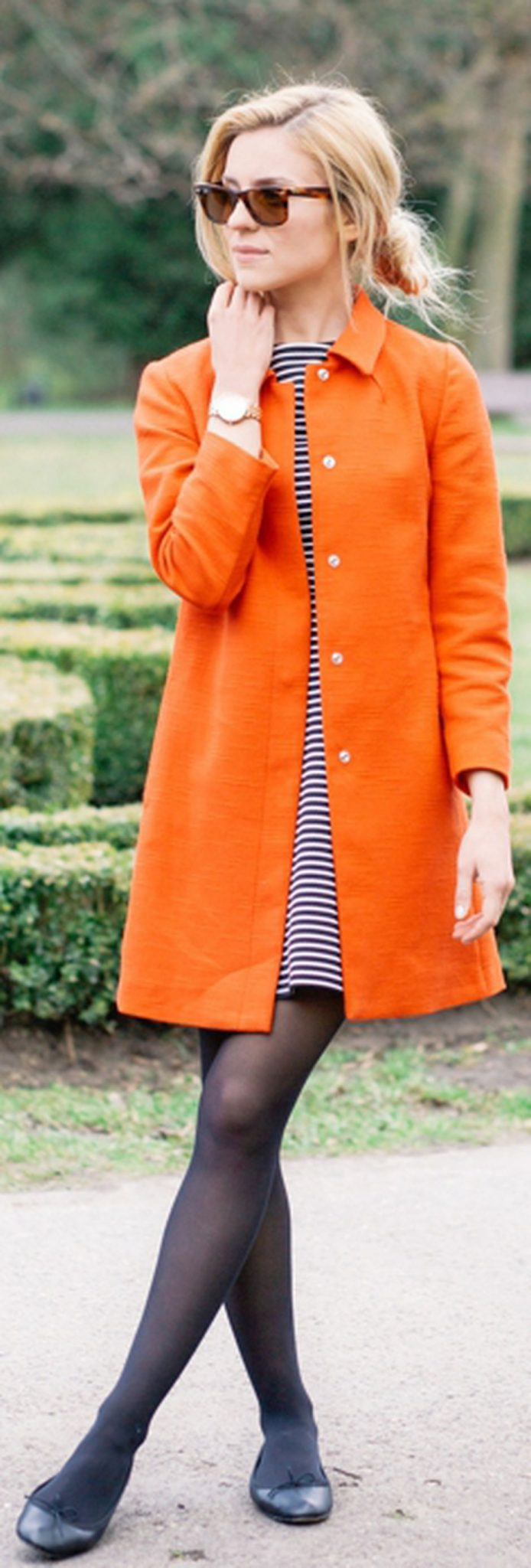 55 Orange Outfit Ideas That Make You Look Young and Fresh 50