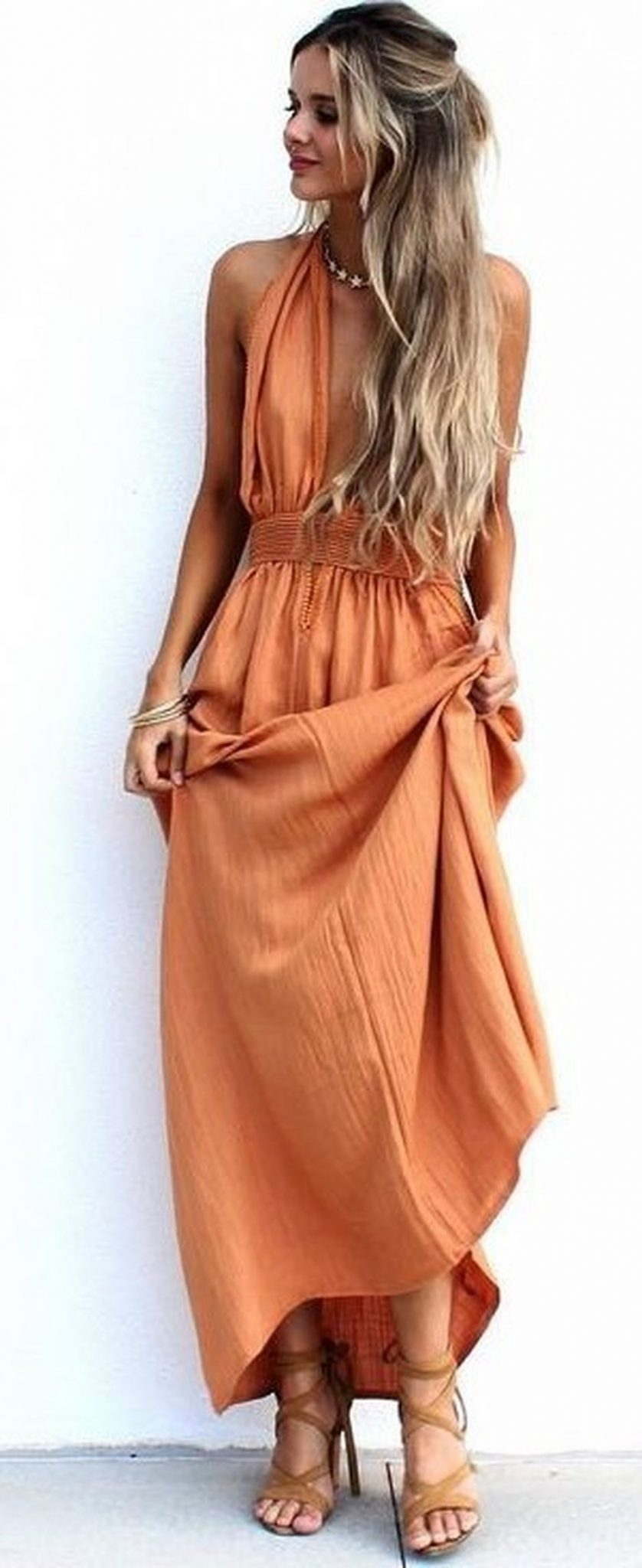 55 Orange Outfit Ideas That Make You Look Young and Fresh 55