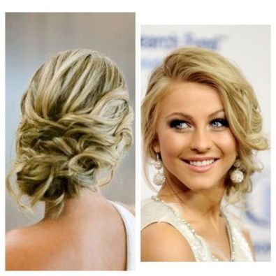 simpe but classy bridal hair do 18