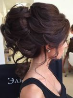 simpe but classy bridal hair do 29