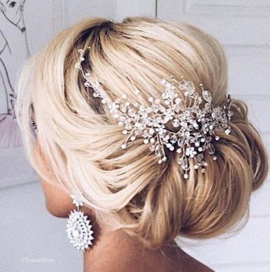simpe but classy bridal hair do 5