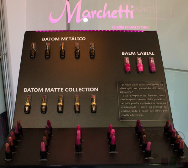 Batom Metálico - Marchetti