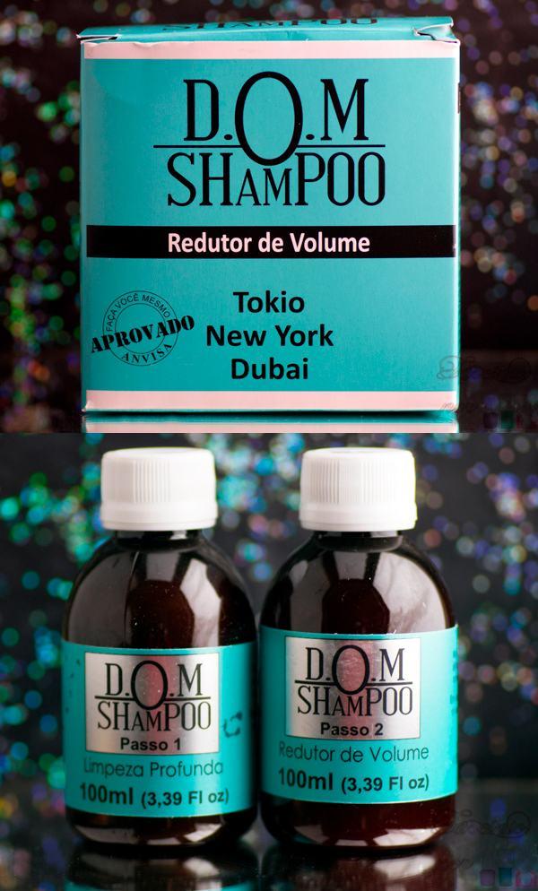 D.O.M Shampoo - Redutor de Volume