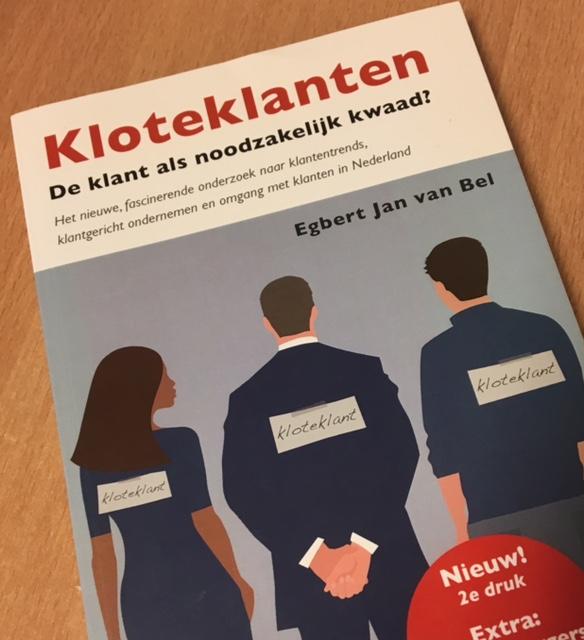 Kaft van de bestseller 'Kloteklnten' van Egbert Jan van Bel