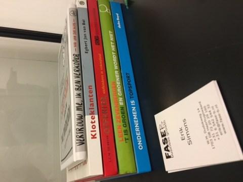Boeken die de commerciele visie en strategie van Fase-B Business Growth ondersteunen