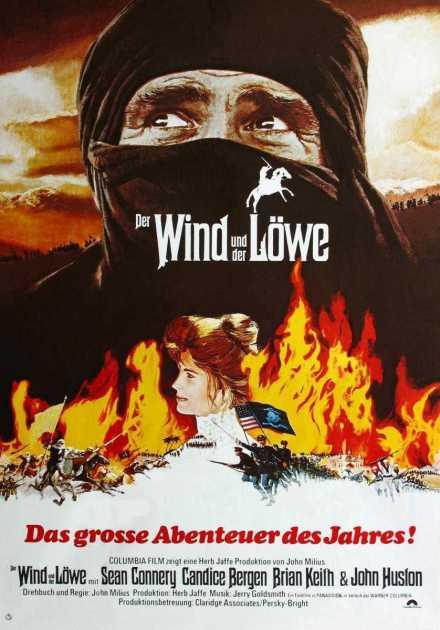 فيلم The Wind and the Lion 1975 مترجم