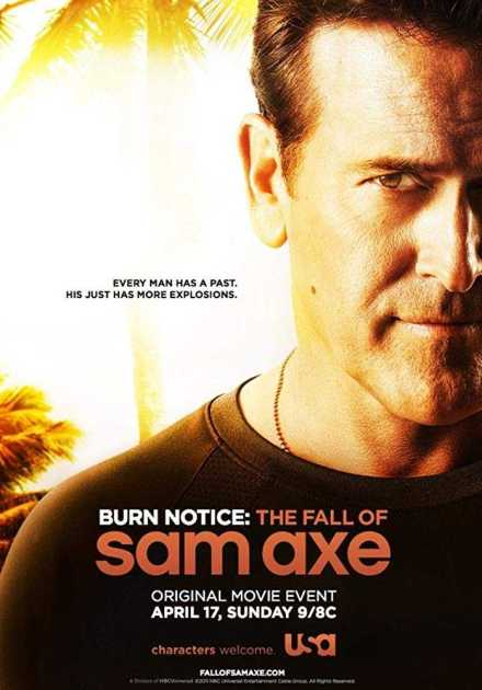فيلم Burn Notice The Fall of Sam Axe 2011 مترجم