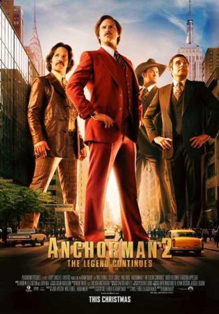 فيلم Anchorman 2: The Legend Continues 2013 مترجم