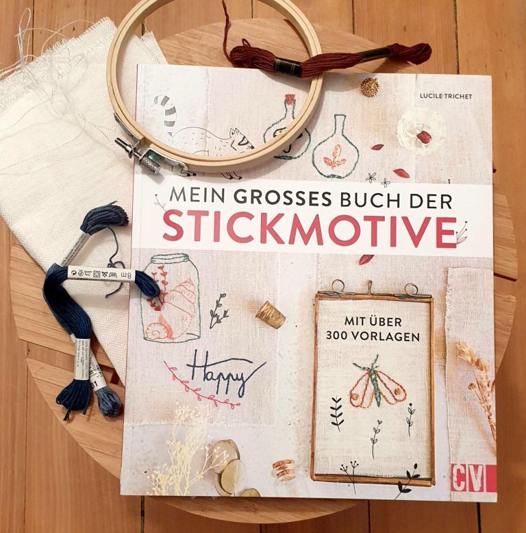 Mein großes Buch der Stickmotive von Lucile Trichet