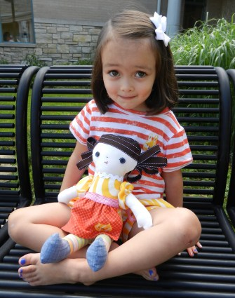 Sitting with Doll