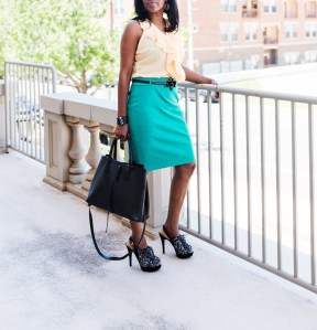Bold Colors - Green and Yellow