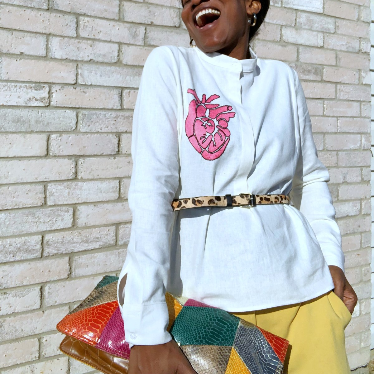 The Embroidered Amor and Rosas Anguilla Shirt - Valentines Giveaway