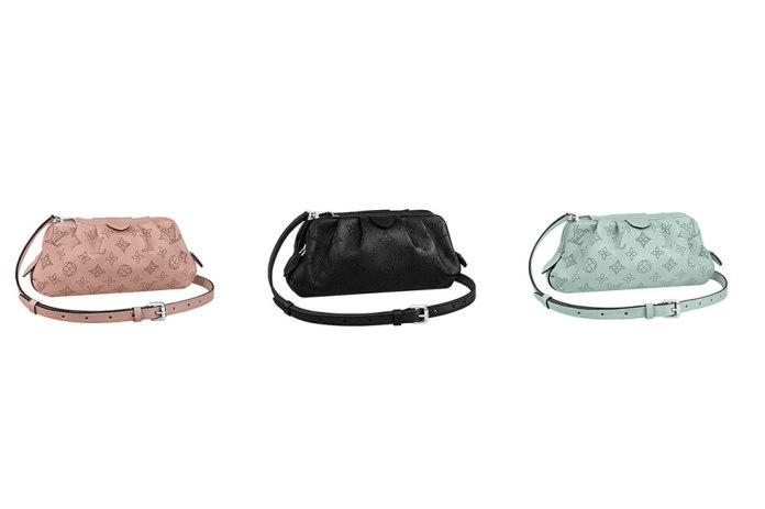 LOUIS VUITTON ルイ・ヴィトンが「マヒナ·レザー」シリーズからモノグラム・パターンが美しい最新型バッグ「スカラ·ミニ」を発売!