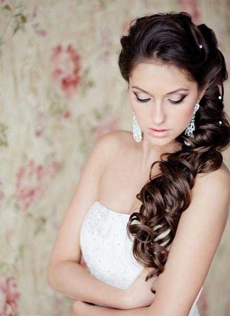wedding hairstyles curls