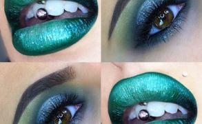 Vanessa Cisullo – Green Lips and Halo Eyes
