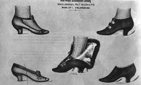 2fc7ba87cde16 Čistokrvný rodokmeň - história obuvi od staroveku až po súčasnosť ...