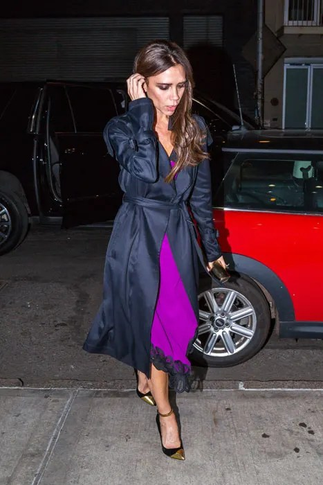 Victoria Beckham Gives Street Style Masterclass In New York