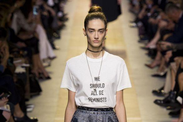 dcf162aeda20d Mame Fashion Dictionary  Dior Feminist Slogan T-Shirts