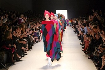Benetton 40th Anniversary Catwalk