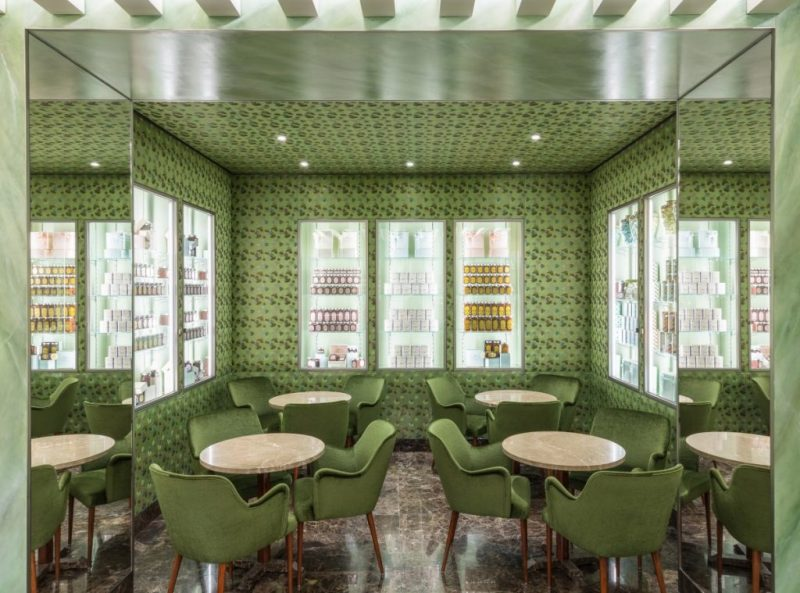 Mame Fashion Dictionary: Marchesi Pastry Shop on via Monte Napoleone 9