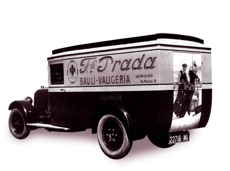 Mame Fashion Dictionary: Prada Van For Deliveries 1918