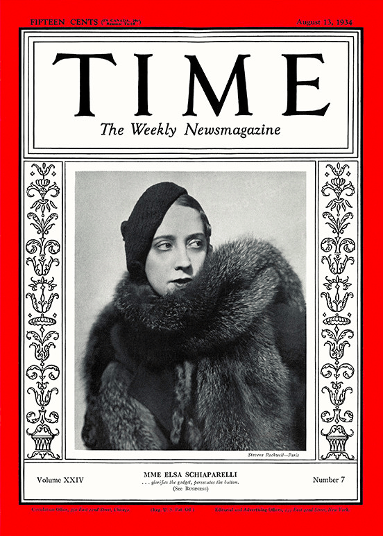 The First Female Fashion Designer To Be Featured On The Front Of The American Magazine Time Mame Fashion Dictionary