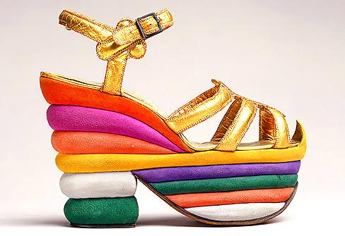 Mame Fashion Dictionary: Salvatore Ferragamo's Original Platform Sandal Made for Judy Garland 1938