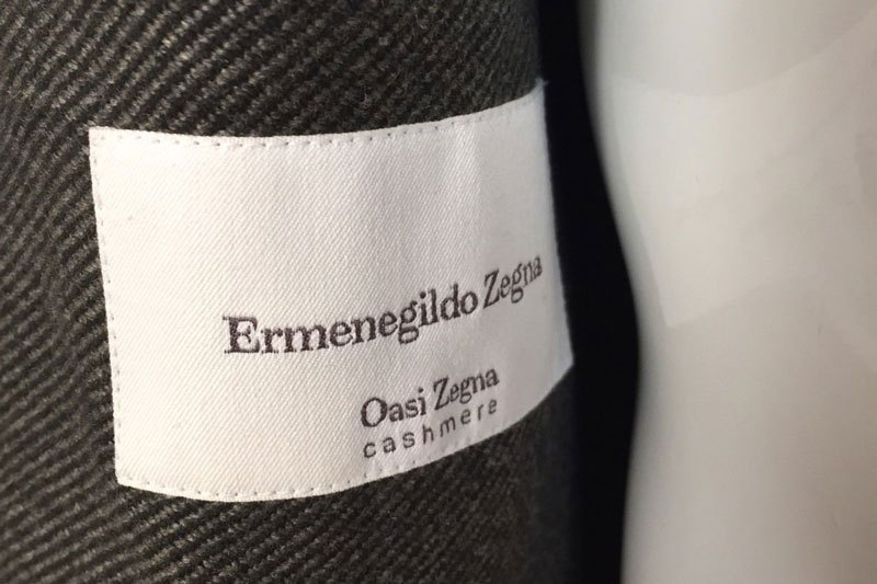 Mame Fashion Dictionary: Zegna Oasis Cashmere Fabric
