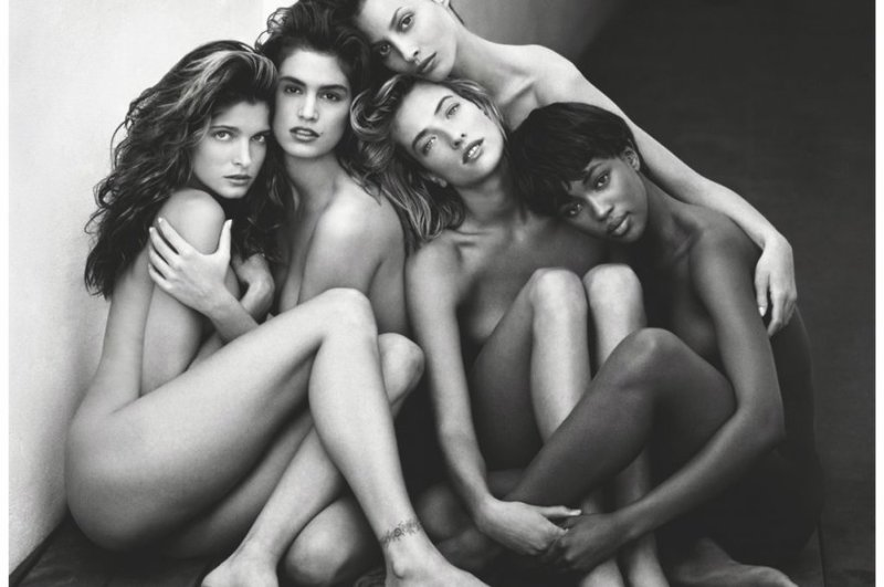 Naomi Campbell Supermodels Shot by Herb Ritts