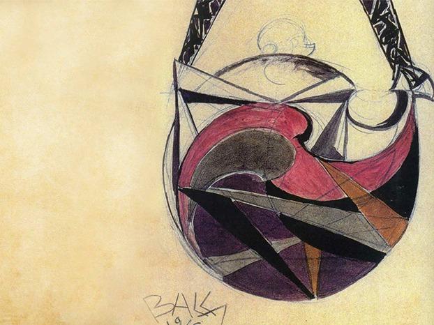 Borbonese 1910 Purse Sketch