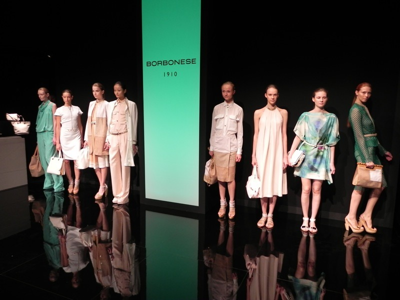 Borbonese SS10 Milan Fashion Week