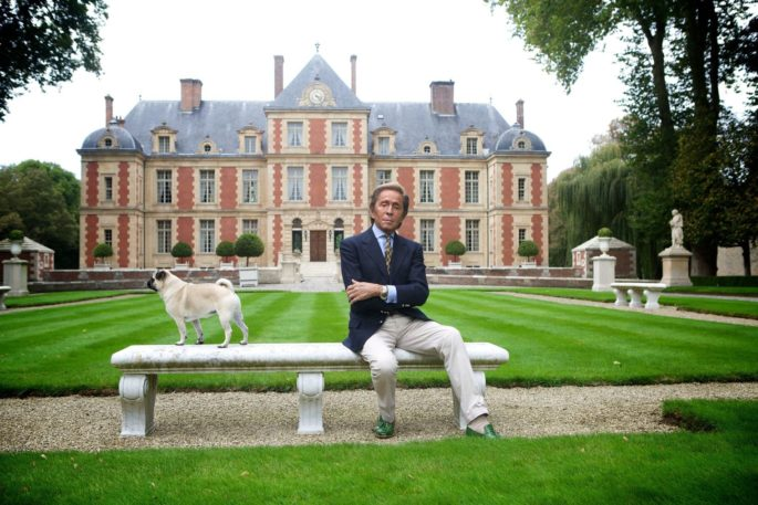 Mame Fashion Dictionary: Valentino Designer in his Eighteenth Century Castle