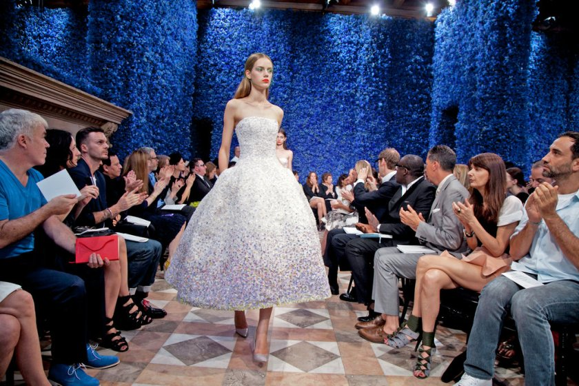 Mame Fashion Dictionary: Raf Simons First Dior Haute Couture Show