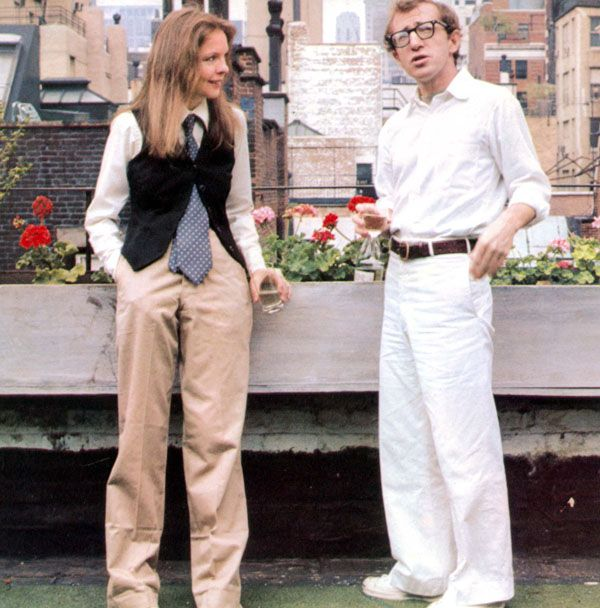 Mame Fashion Dictionary: Ralph Lauren Dressed Diane Keaton in Annie Hall