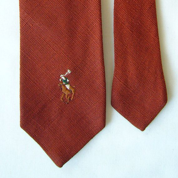 Mame Fashion Dictionary: Ralph Lauren First Tie Collection Style