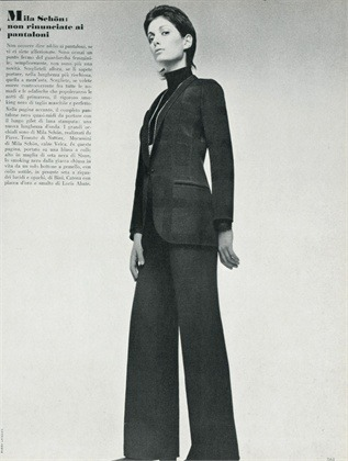Giorgio Armani 1970 Power Suit